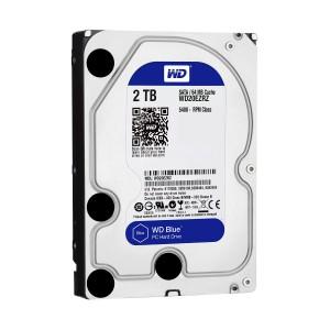 WD HDD Blue 2TB 3.5″ SATA 3/64MB Cache/ 5400RPM (Màu xanh)
