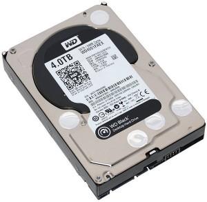 Ổ cứng HDD Western Black 4Tb SATA3 7200rpm