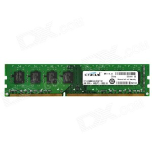 RAM Crucial 8Gb DDR3L 1600 Non-ECC (For Skylake)