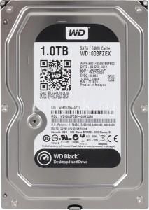 WD HDD Black 1TB 3.5″ SATA 3/ 64MB Cache/ 7200RPM (Màu đen) mã:WDBLACK1TB