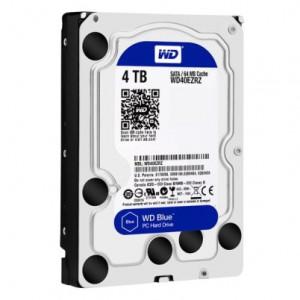 WD HDD Blue 4TB 3.5″ SATA 3/64MB Cache/ 5400RPM (Màu xanh) mã: WDBLUE4TB