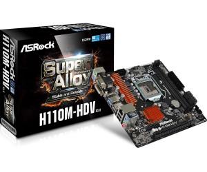 Asrock H110M-HDV R3.0 (D-Sub, DVI-D, HDMI – bản nhỏ) mã: ASROCKH110M_HDVR3.0