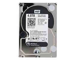 WD HDD Black 4TB 3.5″ SATA 3/ 64MB Cache/ 7200RPM (Màu đen) mã:WDBLACK4TB