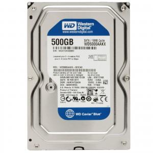 WD HDD Blue 500GB 3.5″ SATA 6Gb/s/ 32MB Cache/ 7200RPM (Màu xanh) mã:WDBLUE500GB