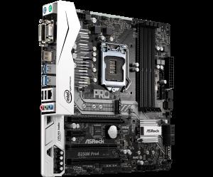 Asrock B250M Pro4 (HDMI, DVI-D, D-Sub) mã:ASROCKB250MPRO4