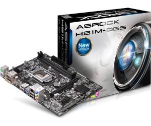 Asrock H81M-DGS (Full tụ rắn/DVI-D/D-Sub) mã: ASROCKH81MDGSBOX