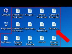 Sửa lỗi win 7 bị mất biểu tượng trên màn hình, biểu tượng trắng hoặc biến thành biểu tượng khác